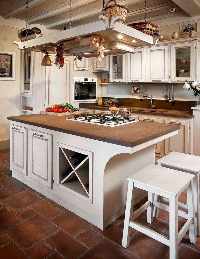 Итальянская кухня Belville от фабрики Le Cucine Dei Mastri в ...